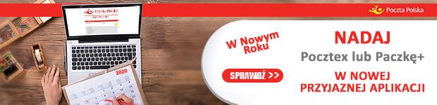 Pocztex nadaj przesyłkę w nowej aplikacji. www.poczta-polska.pl/nadaj
