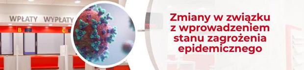 Koronawirus w Polsce - aktualne informacje dla Klientów